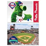 Philadelphia Phillies Official MLB 2 inch x 3 inch Car Magnet 2-Pack by Wincraft