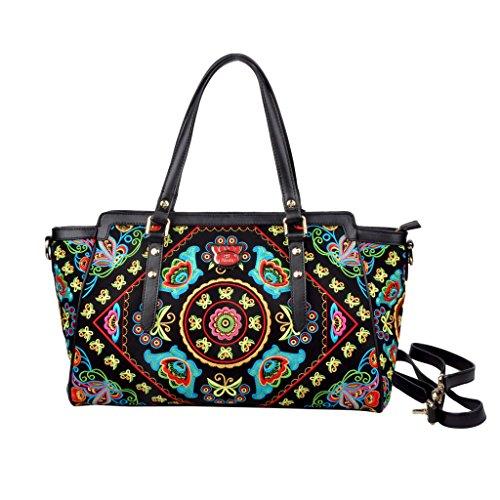 Fricaine Alake Embellished Exotic Bag by Fricaine