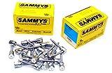 (25) Sammys 3/8-16 x 2 Sidewinder Threaded Rod Hangers for Steel 8052957