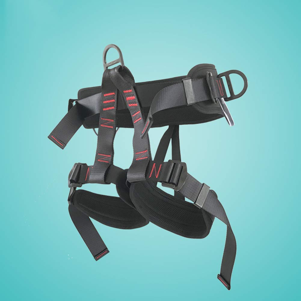 Mountain seat Belt seat Belt for fire Rescue, high Altitude Rock Climbing, Downhill Equipment, Half Body Guard by HENRYY (Image #6)