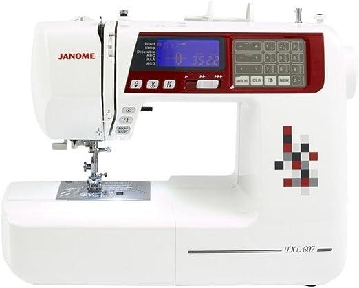 Janome TXL607 - Máquina de coser: Amazon.es: Hogar