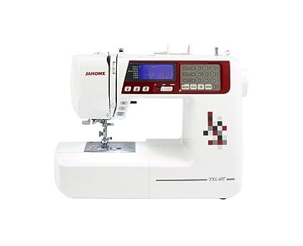 Janome TXL607 - Máquina de coser