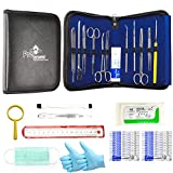 39 Pcs Advanced Dissection Kit - For Botany veterinary Medical Student Full Dissection Kit Set with Stainless Steel Instruments For Dissecting Frogs Perfect for Anatomy Biology Students.