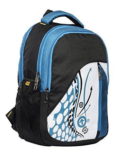 Peter india™Polyester 30 Liters Waterproof School Bag Blue