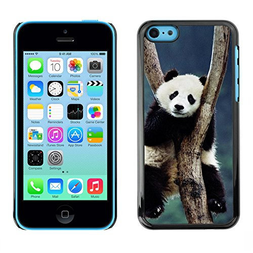 Omega Case PC Polycarbonate Cas Coque Drapeau - Apple iPhone 5C ( Cute Panda )