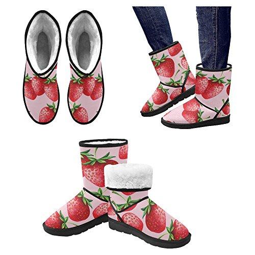 InterestPrint Womens Snow Boots Unique Designed Comfort Winter Boots Multi 30 D4PiVUJ