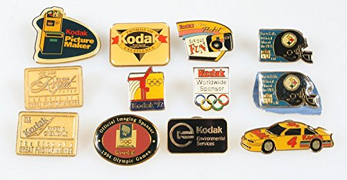 KODAK PIN COLLECTION , SET OF - Pin Kodak