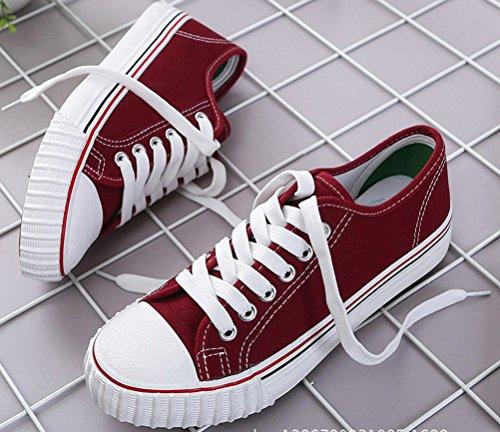 Pour Toile Loafer Chaussures Satuki De Lace Femmes Plat Up Les w15qtR