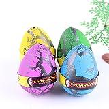 YKL World Emulational Dinosaur Dragon Hatch-Grow Eggs Large Big Size Pack of 12PCS