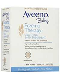 Aveeno Baby Eczema Therapy Soothing Bath Treatment - 3.75 oz - 5 ct BOBEBE Online Baby Store From New York to Miami and Los Angeles