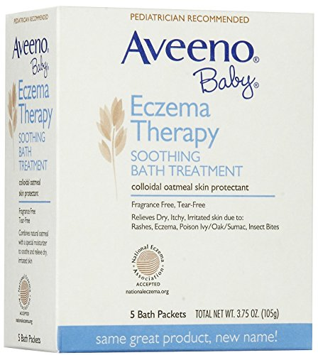 Aveeno Baby Eczema Therapy Soothing Bath Treatment - 3.75 oz - 5 ct (Bath Set Therapy)