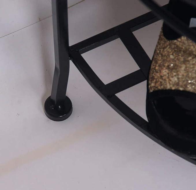 Taotao Semicírculo Simple de Estiramiento de Zapatos de Hierro Forjado Estante de Almacenamiento en Casa Banco de Zapatos Simple: Amazon.es: Hogar