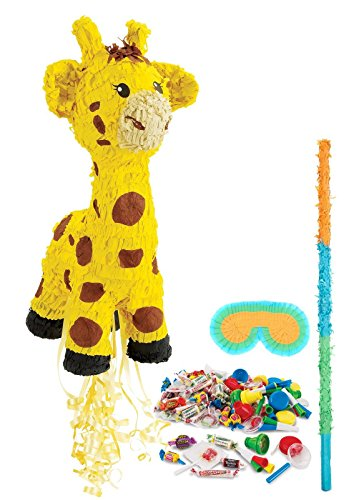 Giraffe Party Supplies - Pinata Kit