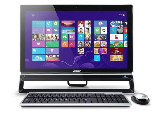 Acer Aspire ZS600 23-inch All-in-One PC (Intel Core i5 3330S 2.7GHz Processor, 6GB RAM, 1TB HDD, DVDRW, LAN, WLAN, BT…