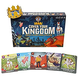 Cover Your Kingdom | Cover Your Assets Brand New & VERY Obnoxious Brother | A Magically Malicious Party Game for 2-8 Players 9+