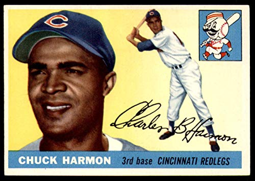 1955 Topps #82 Chuck Harmon Ex-Mint Reds ()
