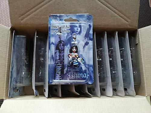 ファイナルファンタジーX-2 ゲーム特典「ユウナ」ストラップ 11個まとめて パッケージいたみ
