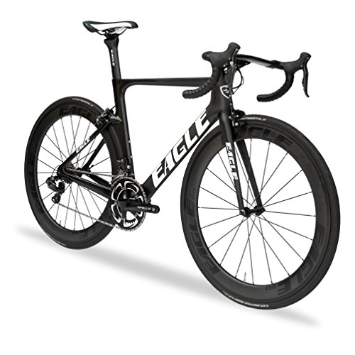 Z3 Eagle Carbon Aero Road Bike - Shimano Ultegra Di2- US Assembled like Trek and Specialized - Comes with Electronic Shifting and Carbon Wheelset - Matte Black (56, 2017 Z3 ULTEGRA DI2)