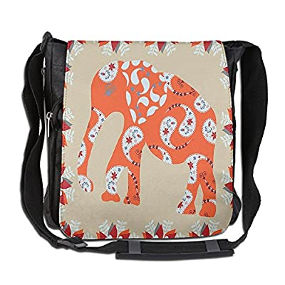 0be666b827 Lovebbag Elephant In Aisley Floral Theme Drawing Design Crossbody Messenger  Bag 85%OFF