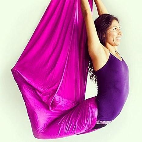 E-Bestar El Yoga antigravedad Hamaca Correa Volar para Yoga Pilates aérea la Hamaca de Yoga Pilates el Columpio de Yoga el Equipo de la Danza aérea ...