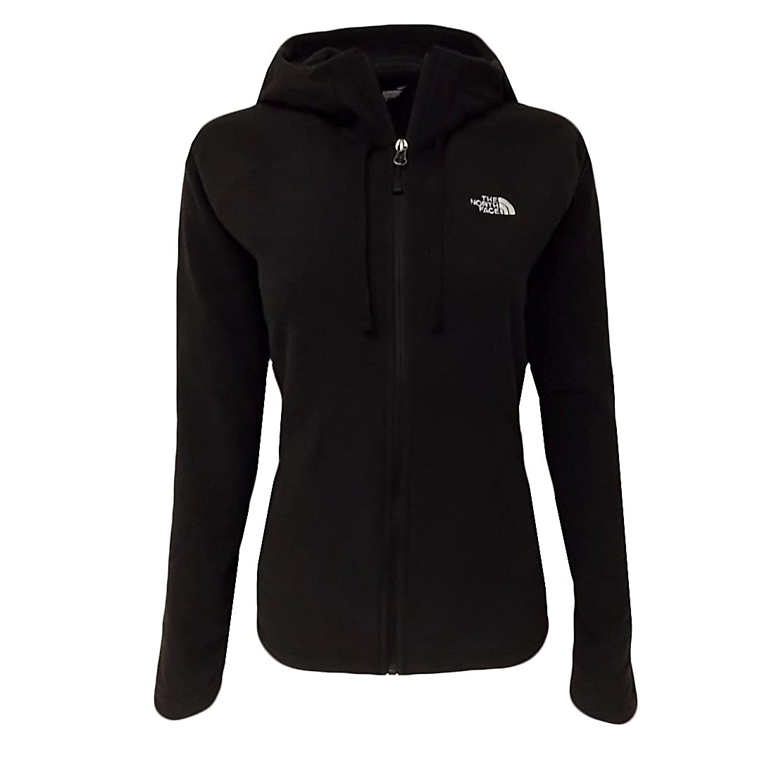 The North Face Womens 100 Tundra Full Zip Hooded Jacket Black