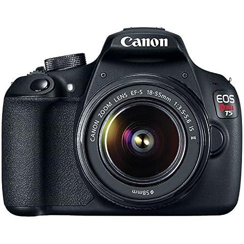 Canon EOS Rebel T5 18.0MP Digital SLR Camera Kit with EF-S 18-55mm IS II Lens - Black (CERTIFIED - Canon Digital Rebel Kit