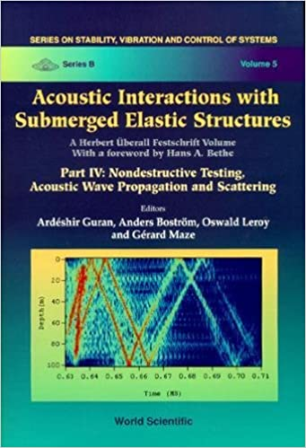 Acoustic Interactions with Submerged Elastic Structures Part 4