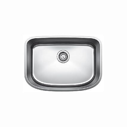Blanco 441587 One Undermount Single Bowl Kitchen Sink, Medium ...