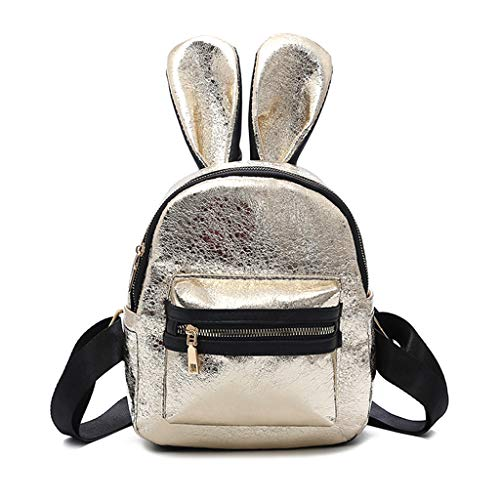 Taichao Fashion Girls Mini Backpack Travel Schoolbag Rucksack Daypack Cute Rabbit ()