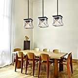 XIPUDA Farmhouse Pendant Light Fixture Kitchen