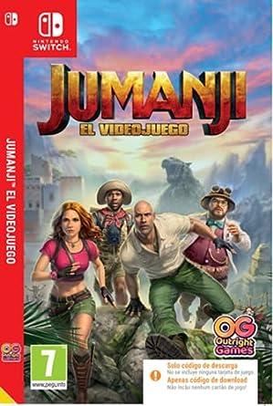 Jumanji El Videojuego Code In The Box
