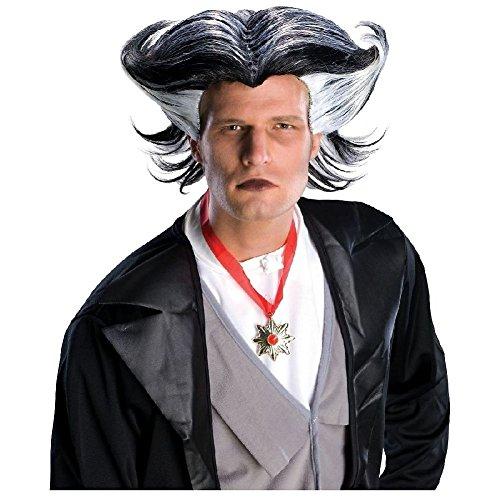 Dracula Wig Adult Mens Vampire Grandpa Munster Halloween Costume Fancy (Grandpa Munster Halloween Costume)