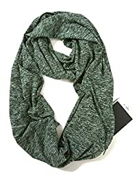 Elzama Infinity Loop Melange Color Scarf with Hidden Zipper Pocket for Women - Travel Neck Wrap