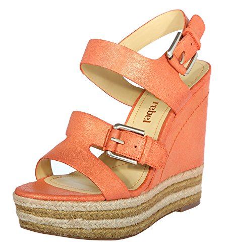 Luxury nelly Rebel Lr Sandalen Damen Orange rzwHY4Wqgz