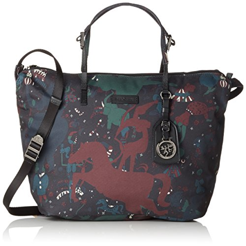 piero guidi 21412 Magic Circus Camouflage Borsa a Tracolla, 37 cm, Giungla