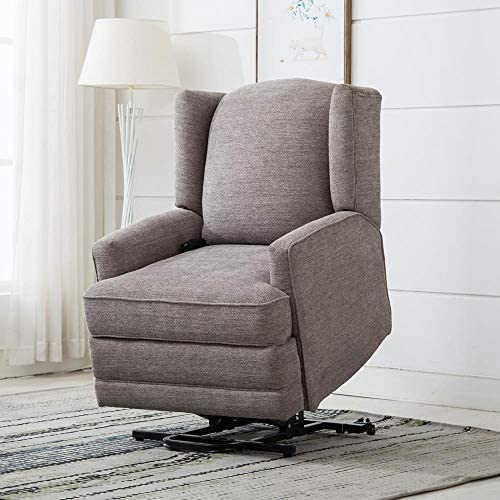Comfort Pointe Connoly Smoke Wingback Lift Chair