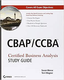 Certified business analysis study guide