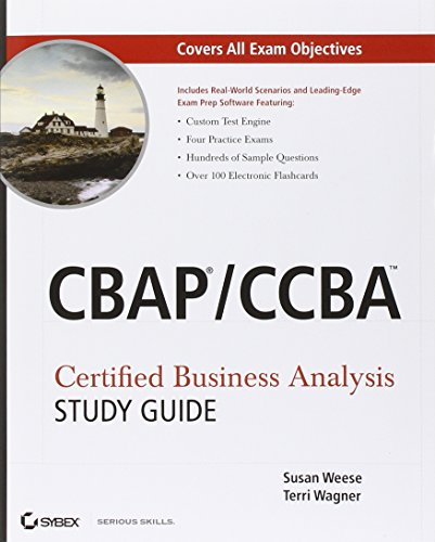 CBAP / CCBA Certified Business Analysis Study - Study Guide Analysis