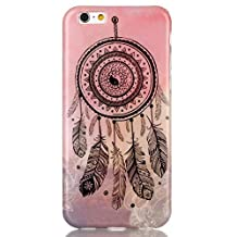 """iPhone 6 Case ,iPhone 6S 4.7"""" Case ,Camiter Pink Dream Catcher Design TPU Gel Silicone Soft Case Back Cover Skin For Apple iPhone 6 6S 4.7"""