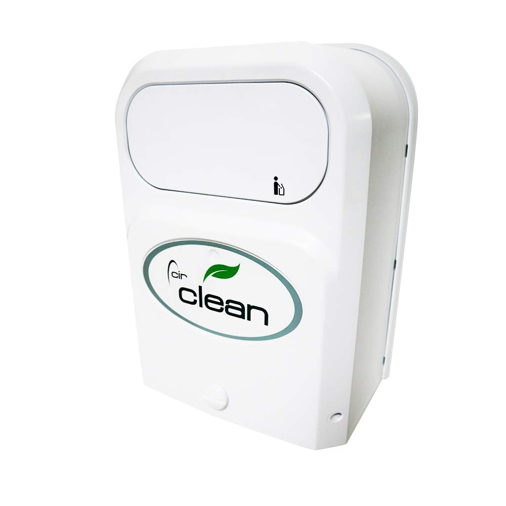 Sanitary Napkins Receptacle Bathroom Circlean Wall-Mounted Trash Can for Multi-Purpose Office Cabinet Door Kitchen