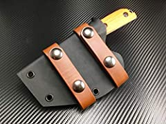 This listing is for a heavy duty (0.93) kydex sheath for the Benchmade 15100-1 Nestucca Cleaver. The sheath is an improvement over the leather sheath that comes stock from Benchmade. It is available in a variety of colors and while it comes s...