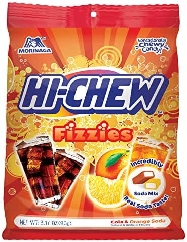 Gummy Candies: Hi-Chew Fizzies