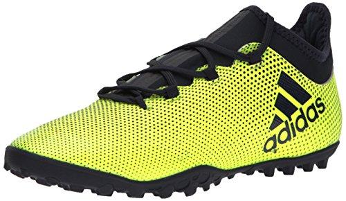 en's X Tango 17.3 TF Soccer Shoe, Solar Yellow/Legend Ink/Solar Yellow, 10.5 Medium US (Adidas Indoor Cleats)