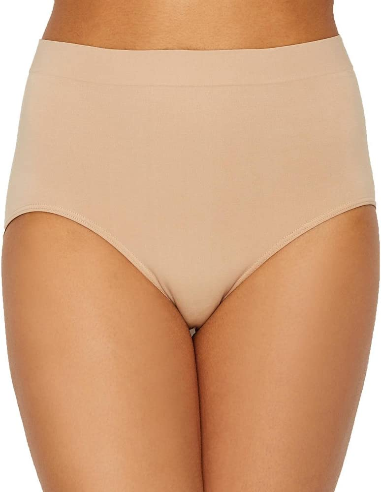 9c079d7f6996 Bali One Smooth U All-Over Smoothing Briefs Nude 6 at Amazon Women's  Clothing store: