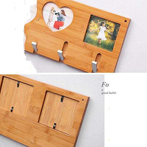 SDFDSVDCGVSGVCGD Wall Coat Rack,Bedroom Wood Hanger Wall Hanger Clothes Rack Living Room Entrance Frame Hook-A by SDFDSVDCGVSGVCGD (Image #4)