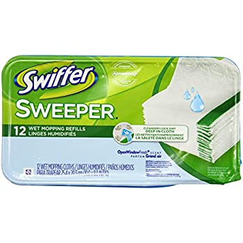 Amazon Com Swiffer Wet Refill 12 Count Pack Health