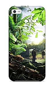 Tough Iphone FFlzgHp7003MFmHl Case Cover/ Case For Iphone 5c(sniper Ghost Warrior)