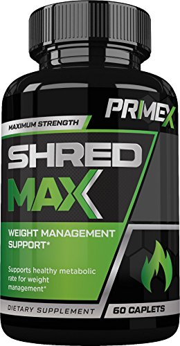 PRIME X SHRED MAX – Weight Management Support – Metabolic Enhancement Supplement- Fat Burner – Appetite Suppressant- 60 Caplets Review