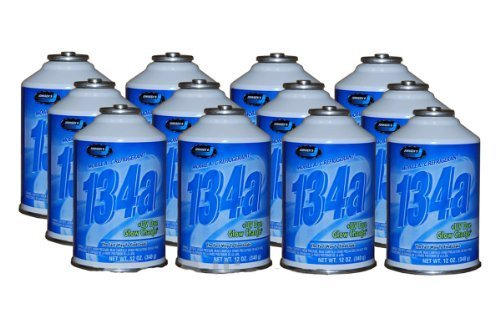 R134a Refrigerant W/Dye 12pk by Technical Chemical