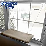 SUNNY SEAT Cat Window Perch Window Mounted Cat Bed Space Saving Cat Bed Cat Hammock Cat Resting seat safety mounted cat bed - Providing all around 360° sunbath and for cats weighted up to 30lb
